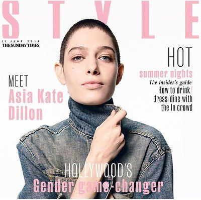 UK Style Magazine June 2017 Asia Kate Dillon - Orange Is The New Black interview