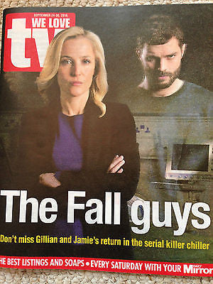 WE LOVE TV Magazine 09/2016 JAMIE DORNAN GILLIAN ANDERSON ROB JAMES COLLIER