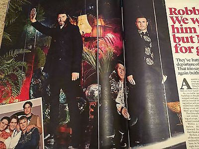 UK Event Magazine February 2017 Take That Mark Owen Jamie Dornan Fifty Shades