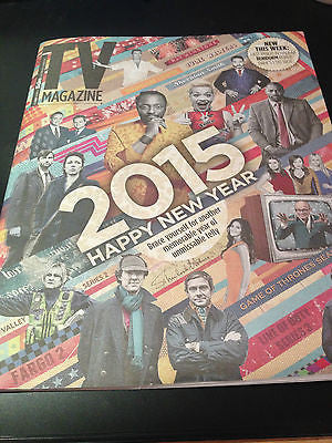 TV MAGAZINE DECEMBER 2014 GILLIAN KEARNEY MARK GATISS BEN WHISHAW ANNE REID