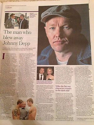 Black Mass JOEL EDGERTON UK PHOTO INTERVIEW NOVEMBER 2015 BENEDICT CUMBERBATCH