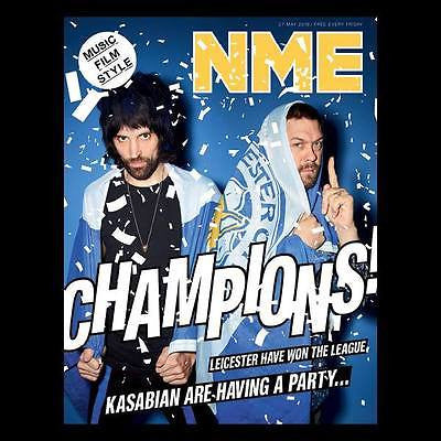KASABIAN Photo Cover Interview UK NME MAGAZINE May 2016
