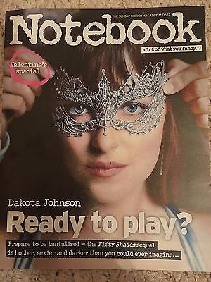 DAKOTA JOHNSON - 50 Shades Darker - Uk Notebook Magazine February 2017