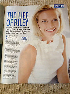 Saturday Mag 2014 MICHELLE KEEGAN Rachel Riley Tony Adams Jane Rossington Mel C