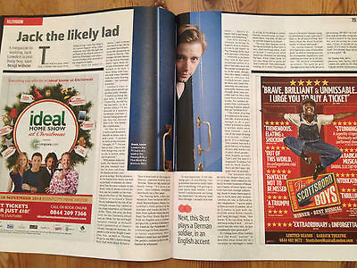CULTURE MAGAZINE NOVEMBER 2014 JACK LOWDEN PASSING BELLS RIXTON SARAH ROSCOE