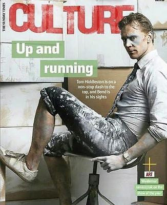 High Rise TOM HIDDLESTON Photo Interview UK CULTURE MAGAZINE March 2016 NEW