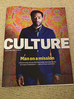 Culture Magazine January 2014 Chiwetel Ejiofor Benedict Cumberbatch Peter Grimes