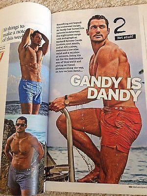 SIENNA GUILLORY UK 1DAY ISSUE 2015 DAVID GANDY models SWIMWEAR rupaul DIANA ROSS