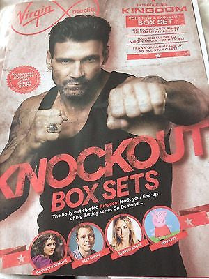 KINGDOM Frank Grillo Photo Cover Interview UK Magazine April 2016