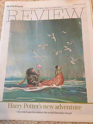 TELEGRAPH REVIEW SUPPLEMENT OCT 3 2015 HARRY POTTER TOM COURTENAY JANET JACKSON