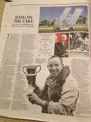 JOHN SURTEES interview THE NEW MINI COOPER UK 1 DAY ISSUE 2014