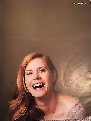 Arrival AMY ADAMS Photo Interview UK Guardian MAGAZINE November 2016 NEW