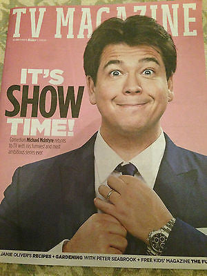 SUN TV Magazine April 2016 MICHAEL MCINTYRE Sir Tom Jones ALESHA DIXON