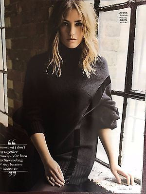 YASMIN LE BON - SOPHIE HOPKINS - TOM HIDDLESTON UK YOU MAGAZINE OCTOBER 2016