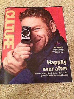 KENNETH BRANAGH PHOTO INTERVIEW CULTURE MAGAZINE MARCH 2015 HOZIER AIDAN TURNER