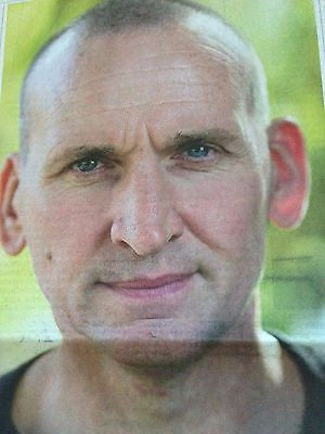 Doctor Who CHRISTOPHER ECCLESTON PHOTO INTERVIEW APRIL 2015