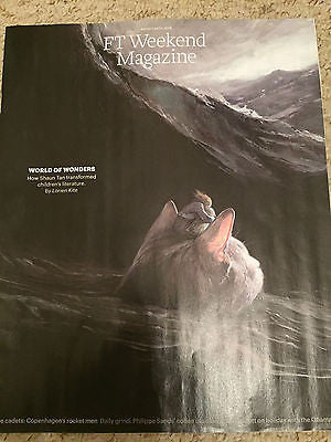 FT Weekend Magazine - August 2016 Shaun Tan Photo Cover Photography
