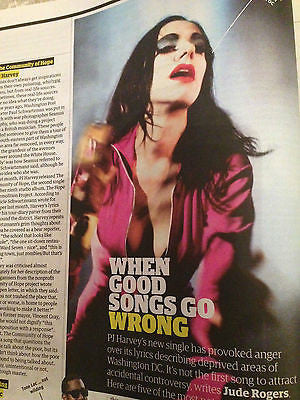 g2 (The Guardian) Supplement April 2016 PJ HARVEY Nick Knowles Chino Moreno
