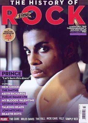 UNCUT PRESENT THE HISTORY OF ROCK MAGAZINE 1986 PRINCE ISSUE 22