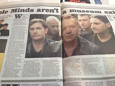 Jim Kerr Simple Minds UK Photo Interview August 2014