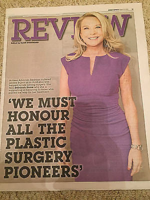AMANDA REDMAN Photo Cover Interview - August 2016 NEW
