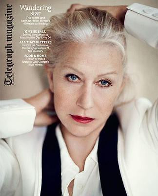 HELEN MIRREN PHOTO COVER INTERVIEW AUGUST 2014 FARIS BADWAN THE HORRORS