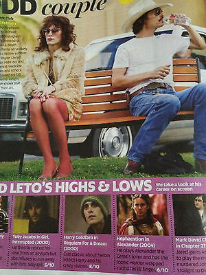 Now Magazine Feb 2014 DAKOTA JOHNSON 50 Shades of Grey Kian Egan Jared Leto