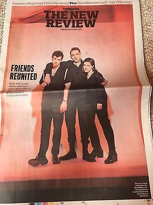 UK Observer New Review January 2017 The xx Cover - Michelle Obama Dev Patel