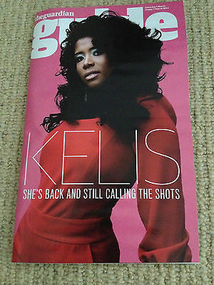 Guide Magazine - 1 March 2014 - Kelis Nathan Fillion Barkhad Abdi Tony Revolori