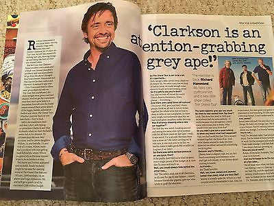(UK) NOTEBOOK MAGAZINE 2016 RICHARD HAMMOND PHOTO COVER INTERVIEW alan rickman