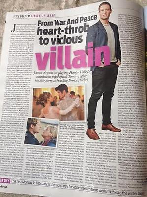 Happy Valley SARAH LANCASHIRE James Norton PHOTO INTERVIEW WEEKEND MAGAZINE 2016