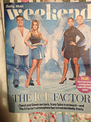 CHERYL COLE Mel C PHOTO COVER 2014 PETER CAPALDI MICKY DOLENZ PHILIP GLENISTER