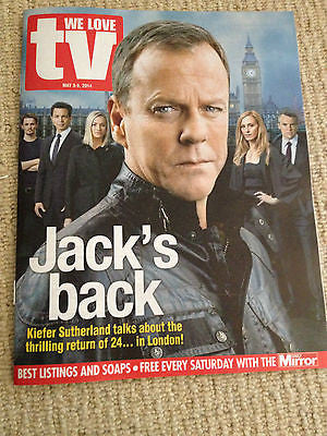 WE LOVE TV Mag 2014 KIEFER SUTHERLAND Luke Newberry Gary Barlow Mads Mikkelsens