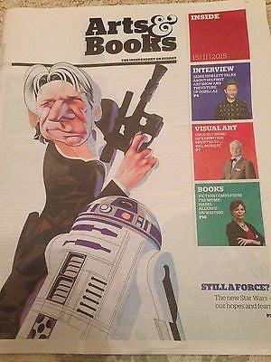 STAR WARS THE FORCE AWAKENS PHOTO COVER INDEPENDENT ARTS NOVEMBER 2015