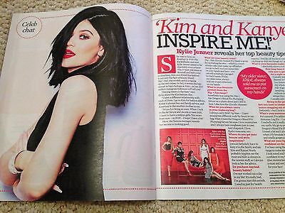 (UK) EXTRA MAGAZINE MAY 2015 KYLIE JENNER PHOTO INTERVIEW ON KIM KARDASHIAN