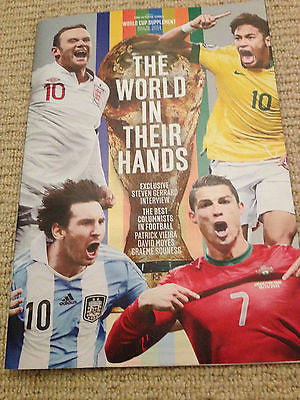 The Sunday Times Brazil 2014 Supplement BRAND NEW world cup football tournament