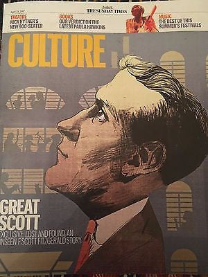 UK Culture Magazine April 2017 F SCOTT FITZGERALD BILL NIGHY STEPHANIE HYAM