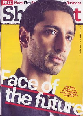 (UK) Shortlist Magazine December 2016 Riz Ahmed - Star Wars: Rogue One UK Cover