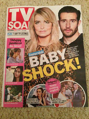 TV SOAP Magazine 25 Sept 2016 Michael Parr Emma Atkins Luisa Bradshaw-White