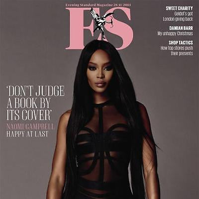 London ES Magazine - November 2014 - Naomi Campbell Photo Cover interview