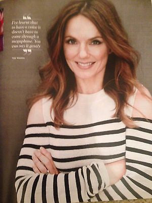 Spice Girls GERI HALLIWELL Photo Cover Interview UK YOU MAGAZINE March 2016