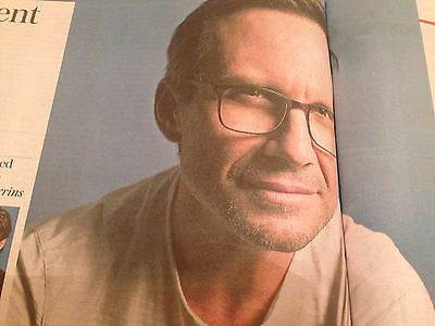 (UK) TELEGRAPH REVIEW JULY 2016 REBECCA MILLER (Arthur) inter/w CHRISTIAN SLATER