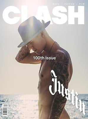 JUSTIN BIEBER PHOTO COVER INTERVIEW UK CLASH MAGAZINE ISSUE 100 NEW