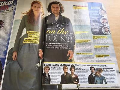 TV & Satellite magazine 10 June 2017 Aidan Turner David Thewlis Helen McCrory