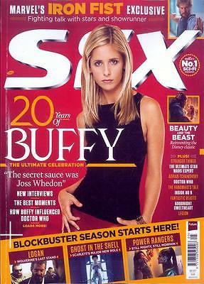 SFX magazine May 2017 20 Years of Buffy The Vampire Slayer Sarah Michelle Gellar