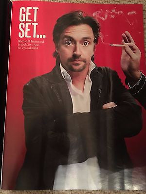 (UK) SUNDAY TIMES MAGAZINE OCTOBER 2016 THE GRAND TOUR RICHARD HAMMOND JAMES MAY