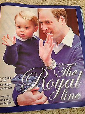 THE ROYAL FAMILY prince george Royal Baby PHOTO Supplement 2015 ROGER DALTREY