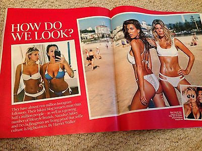 DAVID GANDY PHOTO INTERVIEW UK TIMES MAGAZINE 2015 NATASHA OAKLEY DEVIN BRUGMAN