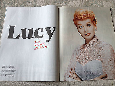 New Review Magazine November 2014 Lucille Ball Bertie Carvel Paul Kaye Anne Rice