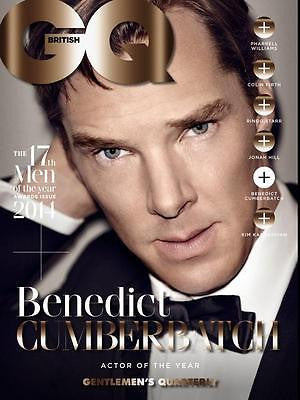 GQ UK 10/2014 Men Of The Year BENEDICT CUMBERBATCH Ringo Starr JAMIE DORNAN